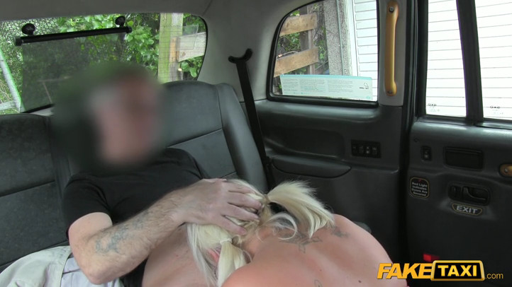 Fake taxi chubby blonde with big tits and 10